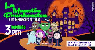 POS 1 La mansión Frankenston | Teatro Quimera