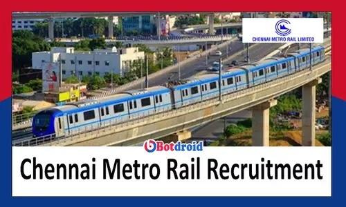 CMRL Recruitment 2021, Apply Online for latest Chennai Metro Rail Jobs