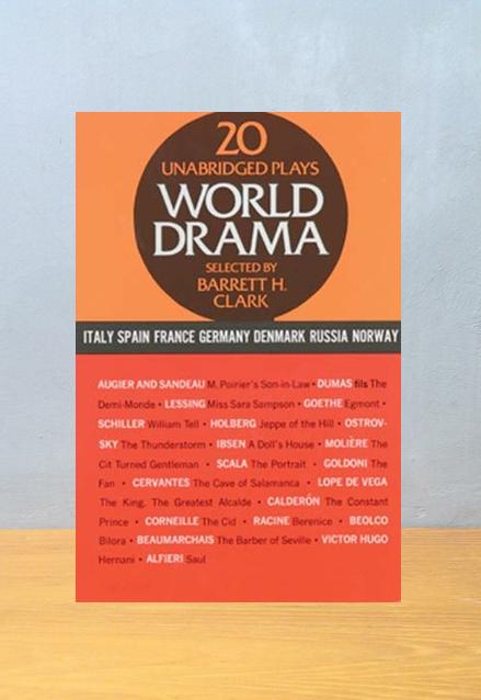 20 WORLD DRAMA, Barret H. Clark