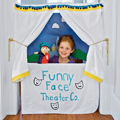 Pillowcase Puppet Theater