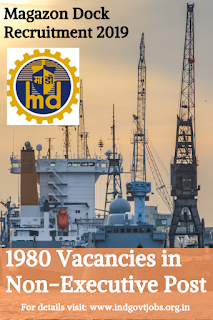 Mazagon Dock Recruitment 2019
