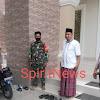 Antisipasi Curanmor, Personil Polsek Marbo Melaksanakan Pengamanan Sholat Jum'at