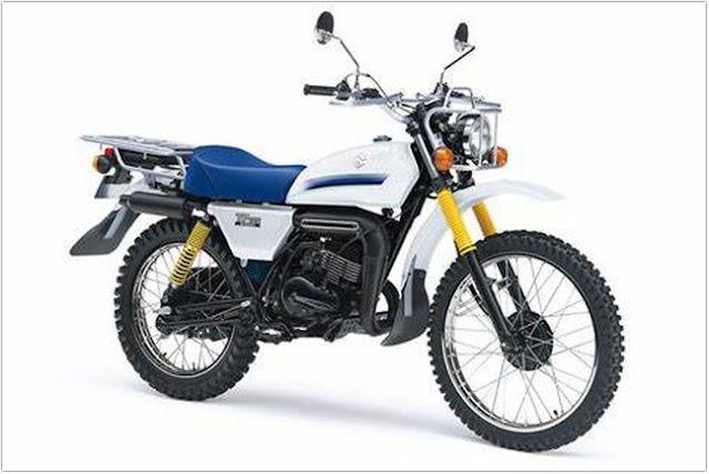 Suzuki TF125;Suzuki TF125, Motor Biasa ala Trail;