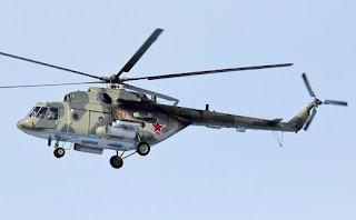 Helikopter Militer Mi-8 Rusia