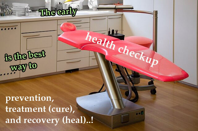 How to invest an effectual health checkup