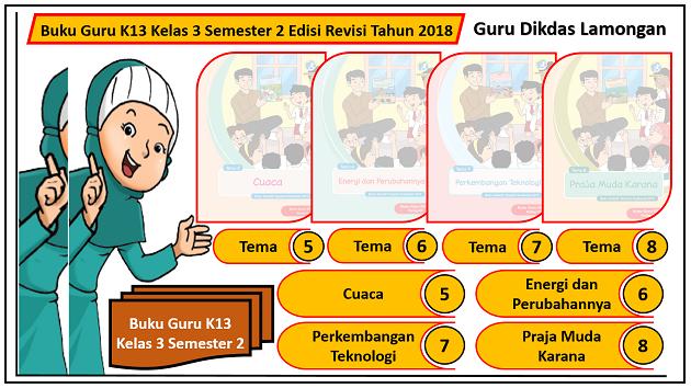 Buku Guru K13 Kelas 3 Semester 2 Edisi Revisi Tahun 2018