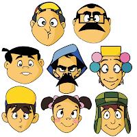 Vetores e Imagens gratis dos Personagens do Chaves.