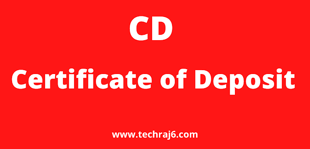 CD full form, What is the full form of CD