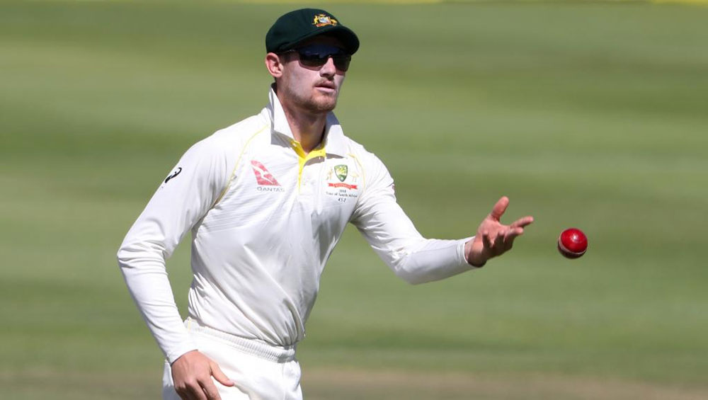 Cameron Bancroft of the Australian cricket team