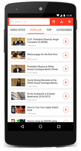 SnapTube – YouTube Downloader HD Video v4 27 1 9718 Cracked APK