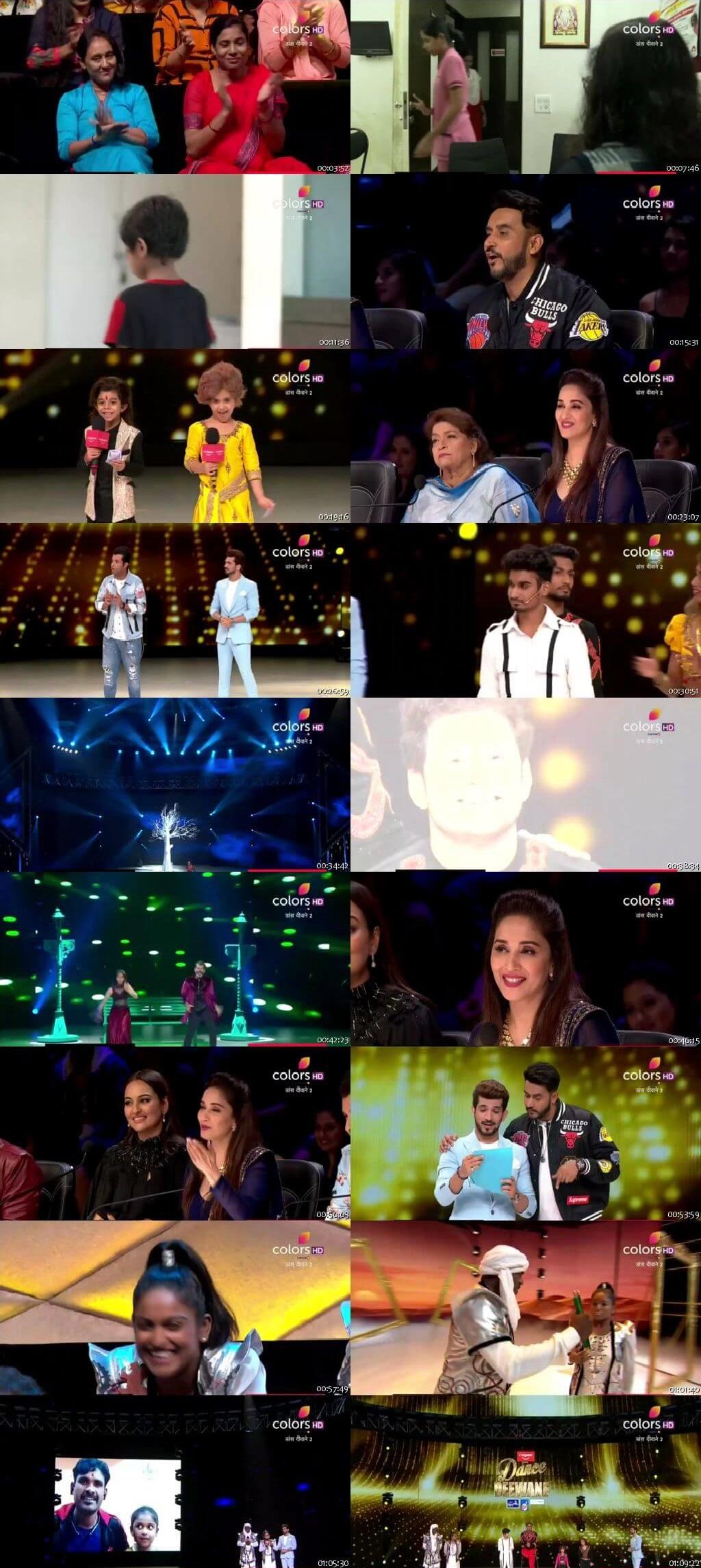 Screenshots Of Hindi Show Dance Deewane 2 4th August 2019 Episode 16 300MB 480P HD