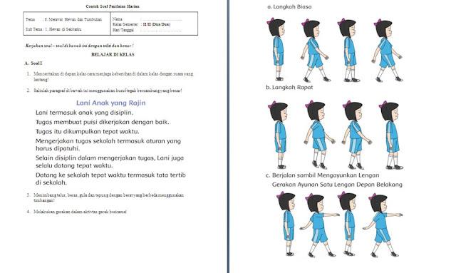 Soal PH Kelas 2 SD/MI: Tema 6