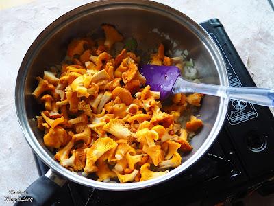 Przepis na sos z kurek