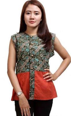 Foto Model Baju Batik Anak Muda Terbaru
