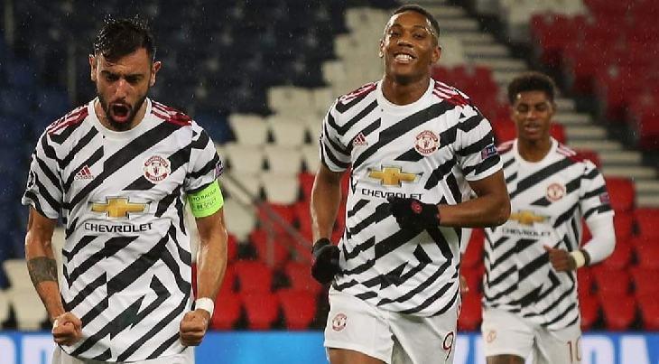 Hasil Liga Champions, Manchester United vs Paris Saint Germain 2-1