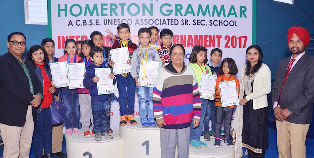 Winners were honored on the concluding ceremony of the Sports Festival at Hammerton Grammar School