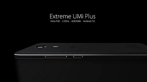 جوال UMi Plus Extreme مع شاشة 5.5 بوصة و معالج Helio P20