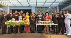 Kapolri Ucapkan Selamat Tahun TNI yang Ke 74