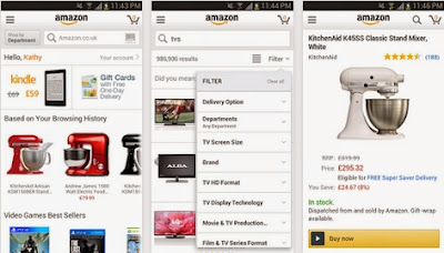 APP GRATIS MOBILE AMAZON PER SMARTPHONE E TABLET ANDROID