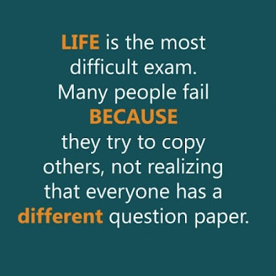 Life Is Exam Quotes