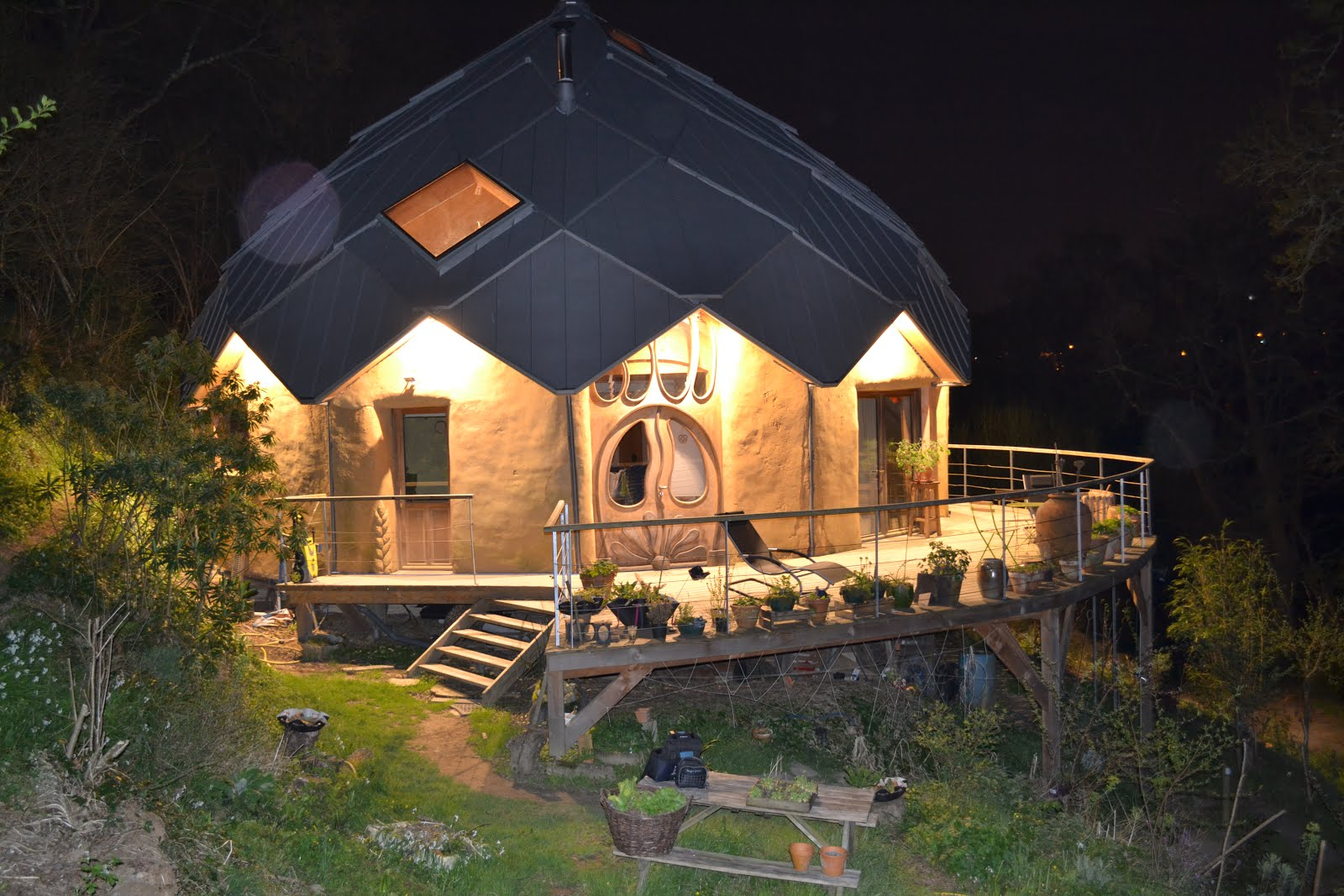 maison bois zome