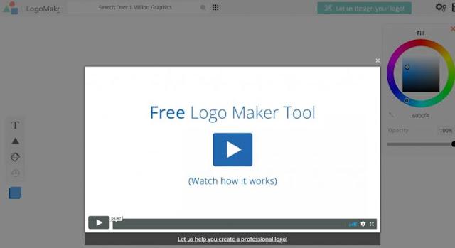 Logo Makr: tạo logo miễn phí với hướng dẫn vide