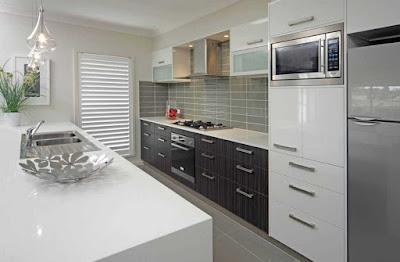 Desain Meja Dapur Dari Granit Modern Untuk Rumah Minimalis 5