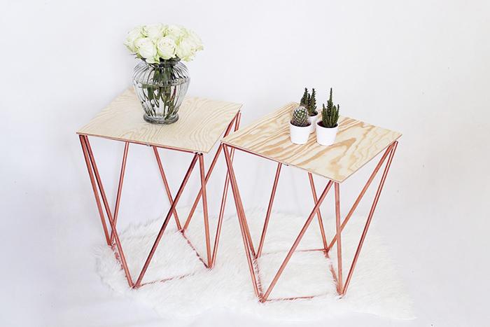 diy   side table ohoh blog