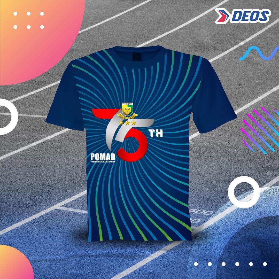 Jersey 👕 POMAD Virtual Run • 2021