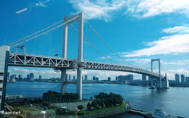 travelling ke odaiba tokyo
