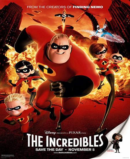 The Incredibles 2004 BluRay 720p Dual Audio In [Hindi English] Download