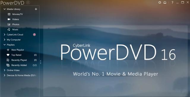 Cyberlink PowerDVD Full Version Crack v18.0