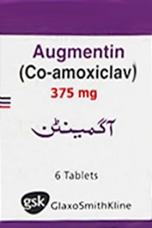 Augmentin375mg Tablet for URTI