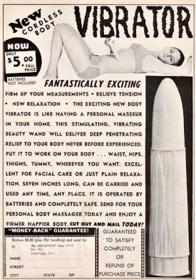 New Cordless Body Vibrator