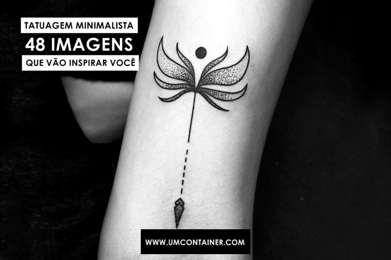 Tatuagem minimalista 48 imagens que vão inspirar você