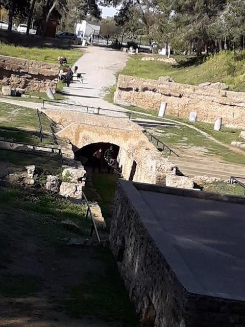 فضيحة داخل المسرح الروماني بقرطاج والسلط لا تبالي (صور نشرها مواطن تونسي مقيم بالخارج (