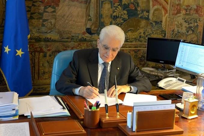 Mattarella firma il Dl per il rinvio delle amministrative