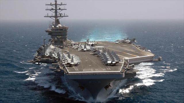 Entra en mar Mediterráneo el segundo portaaviones estadounidense