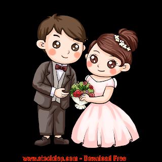 Vector Thiệp cưới file cô dâu