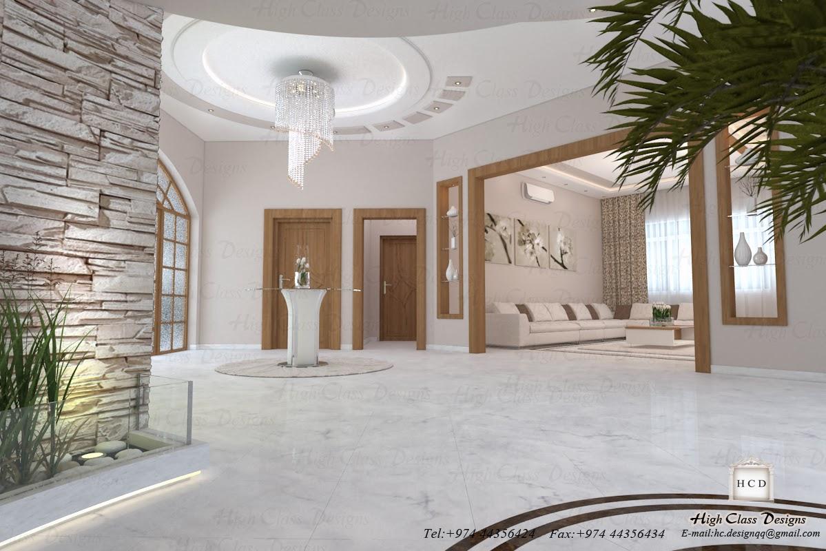 High Class Designs: Modern design hall & sitting