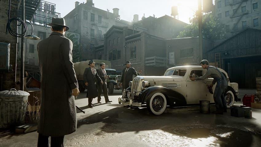 Создатели ремейка культовой «Мафии» показали 14 минут геймплея Mafia: Definitive Edition