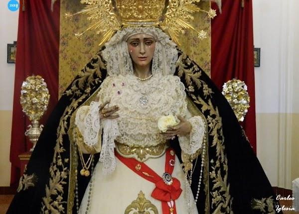 Ya hay fecha para el regreso al culto de la Virgen del Dulce Nombre de Bellavista
