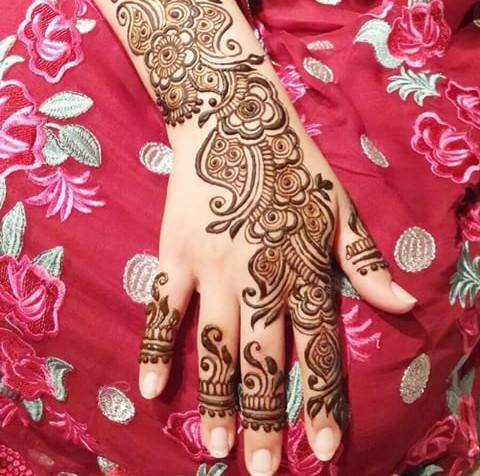 Mehandi Design for Hands 6