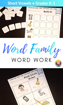 The Top Five Tips for Teaching Short E Words - Word Work and Activities