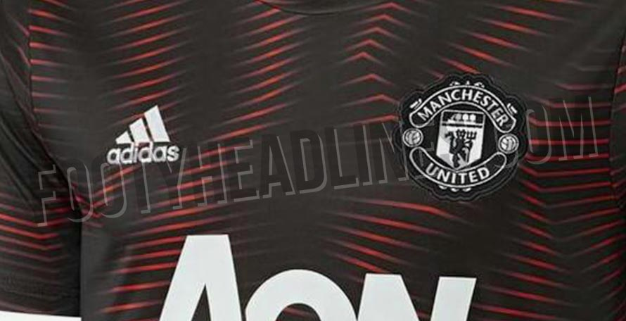 sports shoes db87d 9ba3e Exclusive: Manchester United 2019 Pre-Match Shirt Leaked ...