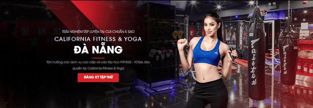 Phòng tập California Gym đang hoạt động tại thành phố Đà Nẵng