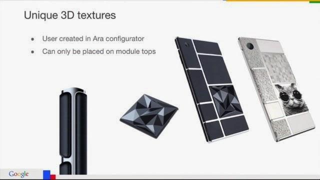 Google在開發者大會上展示新 Ara's 手機