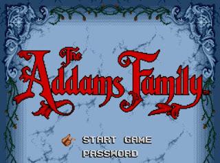 Videojuego La familia Addams
