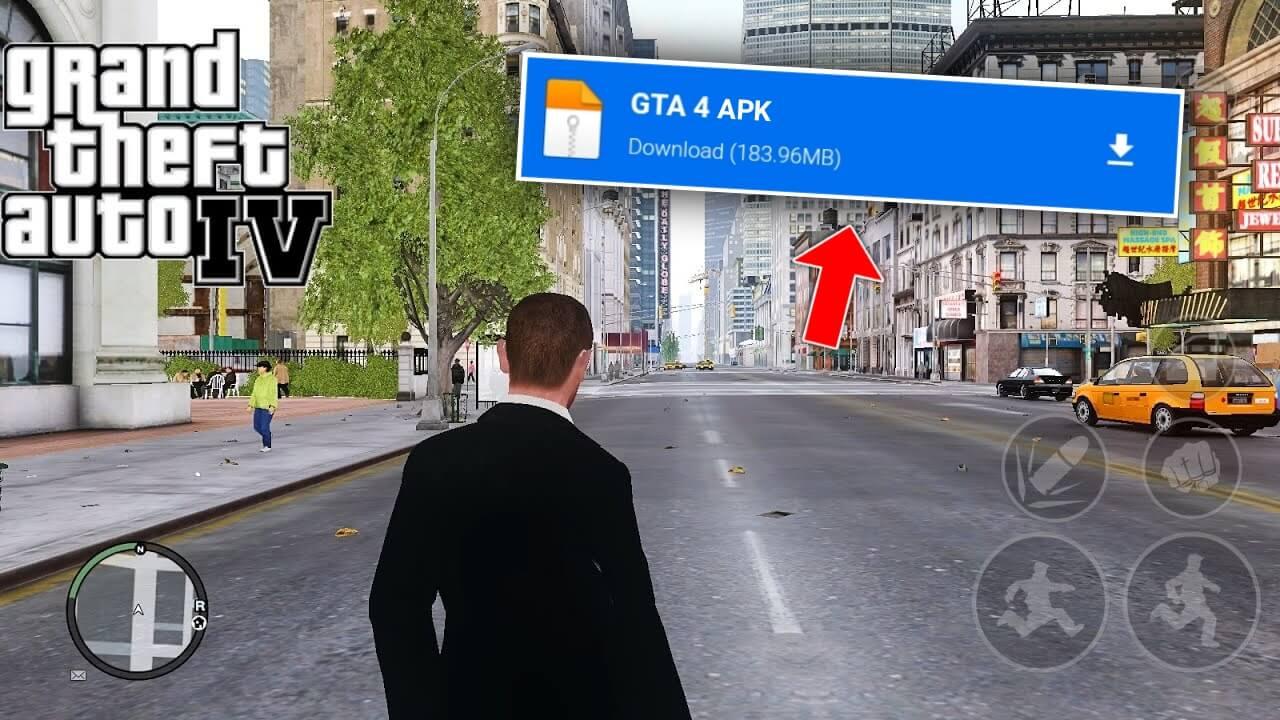 تحميل لعبة gta iv للاندرويد بحجم صغير من ميديا فاير بدون اعلانات 2021 | GTA 4 MOBILE APK