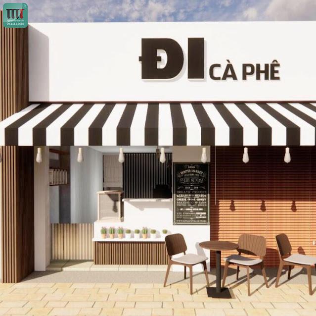 Những mẫu thiết kế quán cafe đẹp